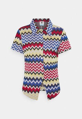 CAMICIA - Button-down blouse - multicoloured
