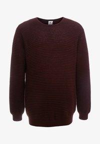 Jack´s Sportswear - CREW NECK - Trui - bordeaux - 3