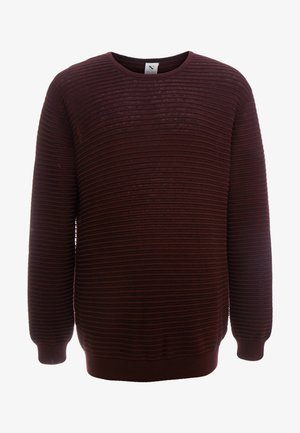 CREW NECK - Jumper - bordeaux