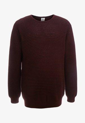 CREW NECK - Pullover - bordeaux