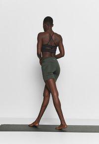 Cotton On Body - LOVE YOU A LATTE BIKE SHORT - Leggings - khaki - 2