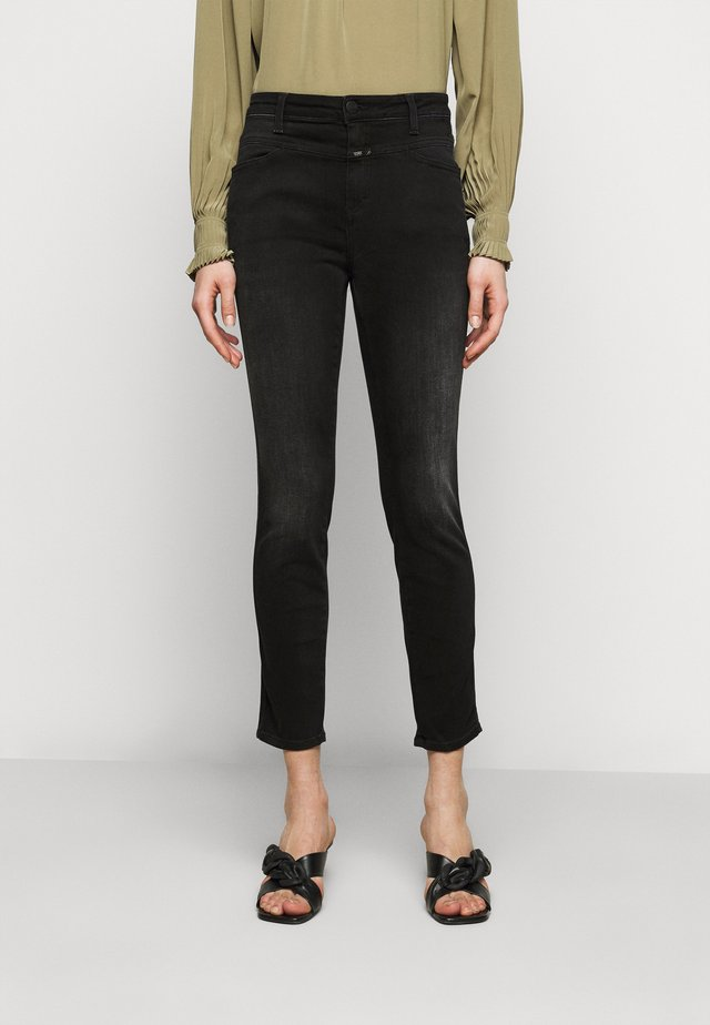 PUSHER - Jeans Skinny Fit - dark grey