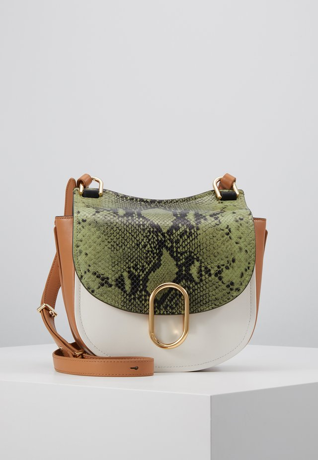 ALIX HUNTER - Across body bag - green/multi