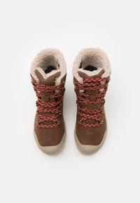 Keen - ELENA HIKER BOOT WP - Zimní obuv - sea lion/plaza taupe - 3