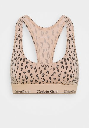 MODERN UNLINED BRALETTE - Bustino - savannah/honey almond