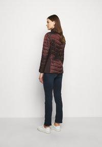 Barbour International - GLEANN QUILT - Light jacket - cocoa - 2