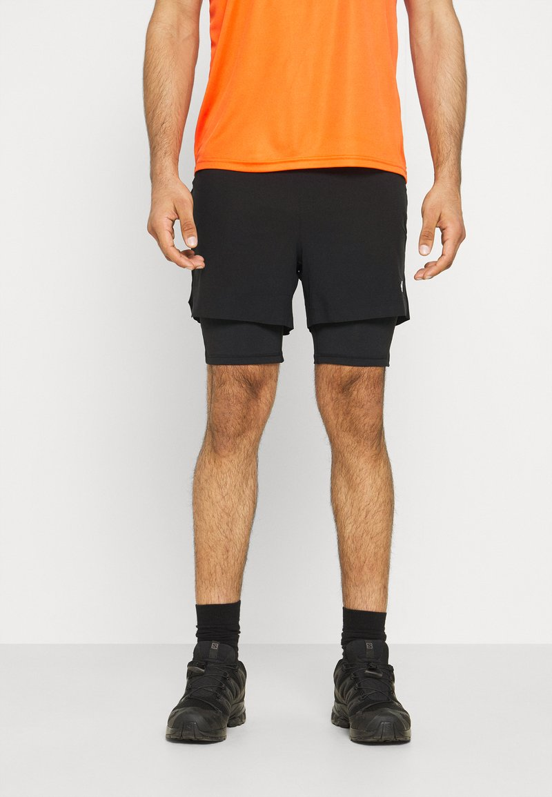 The North Face - CIRCADIAN LINED SHORT - Sports shorts - black