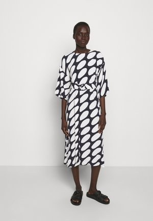 SMULTRON LINSSI DRESS - Day dress - black/off-white