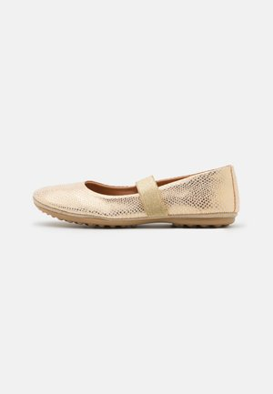 QUINN - Ankle strap ballet pumps - creme