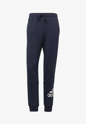 BADGE OF SPORT FRENCH TERRY JOGGERS - Tracksuit bottoms - blue