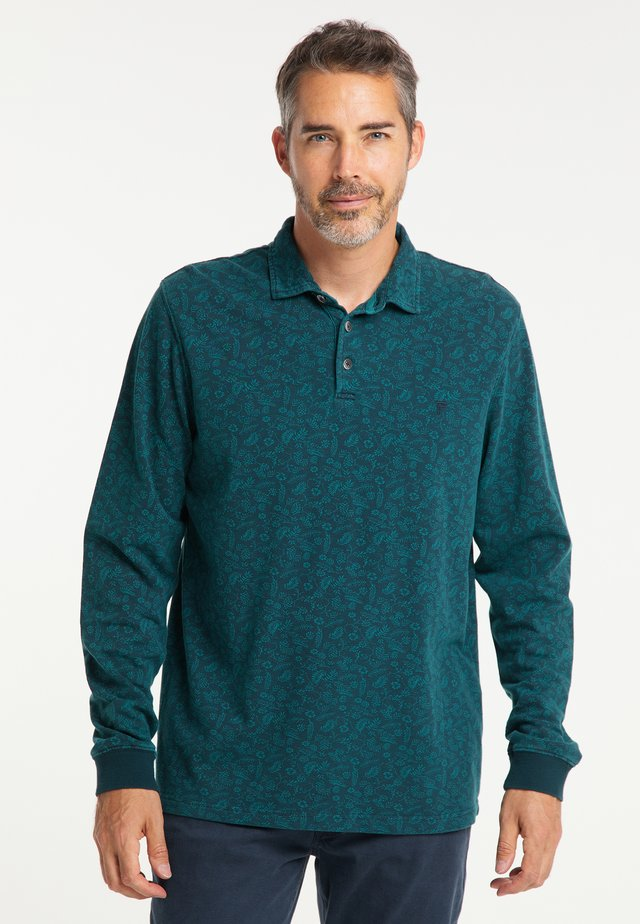 Polo shirt - deep ocean