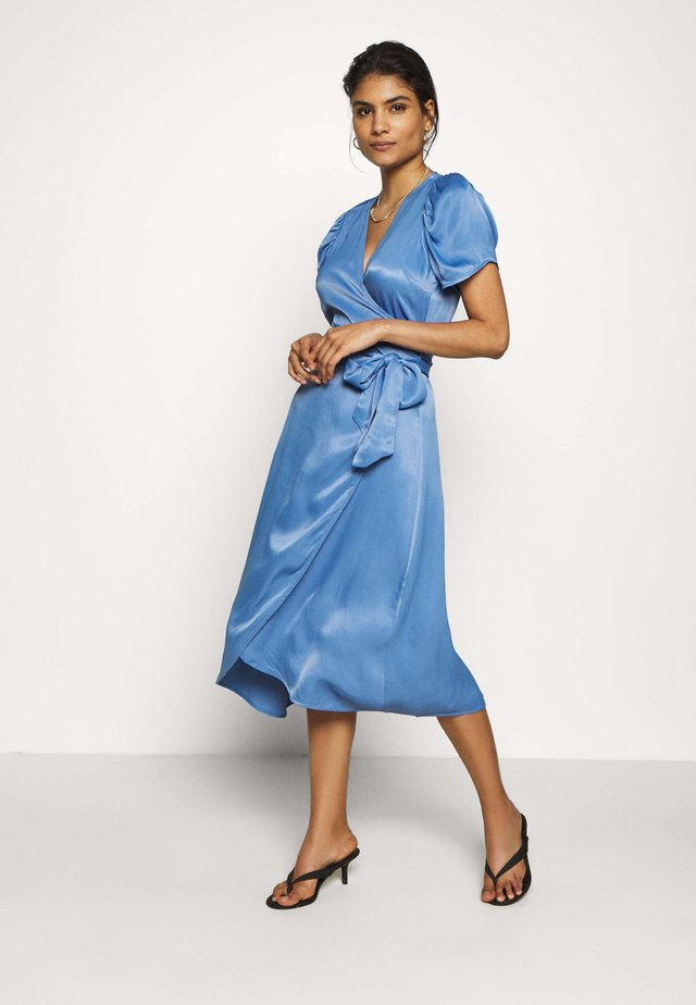 JULISSA WRAP DRESS - Sukienka koktajlowa - riverside