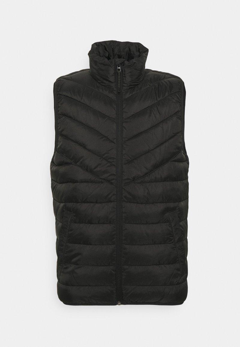 TOM TAILOR DENIM - LIGHTWEIGHT VEST - Waistcoat - black