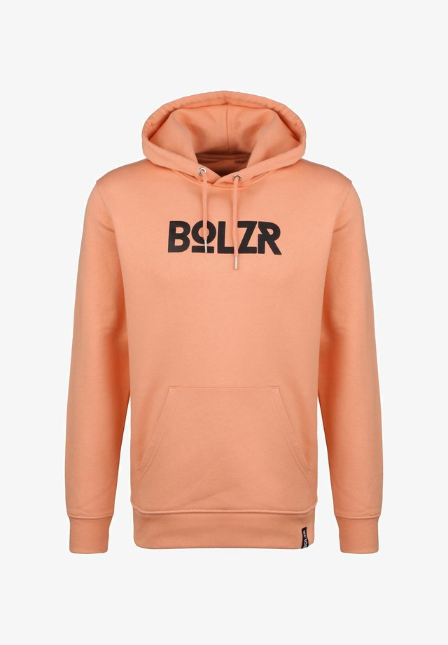 BOLZR HOODIE HERREN - Sweat à capuche - orange