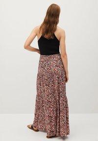 Mango - ELI-X - Pleated skirt - rosa - 2