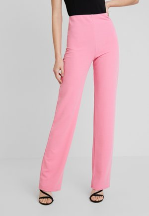 STRAIGHT PANT - Trousers - pink