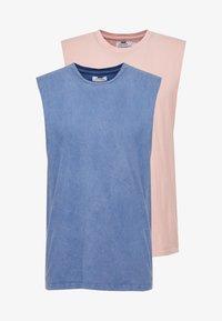 Topman - COBRA 2 PACK - Top - blue/rose - 5