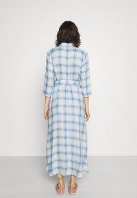 JDY - JDYSTAY MIDCALF DRESS - Košilové šaty - cashmere blue - 2