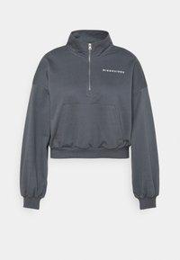 Missguided Plus - KANGROO - Sweatshirt - charcoal - 5