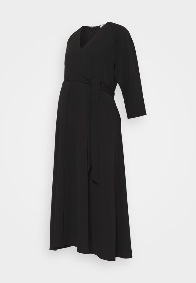 SCAROLA - Maxi dress - black