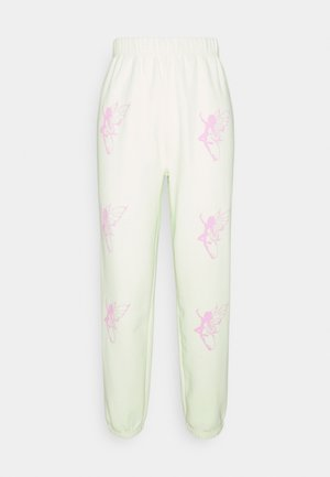RAINBOW FAIRY JOGGERS - Teplákové kalhoty - green