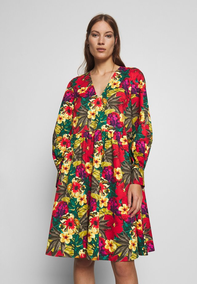 STELLA DRESS - Robe d'été - tropical yellow