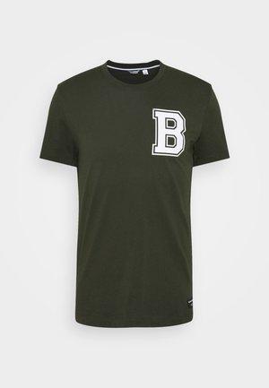CENTRE TEE - Print T-shirt - rosin