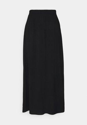 MAIN LONG SKIRT - Áčková sukně - black