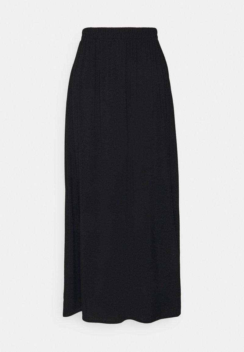 ICHI - MAIN LONG SKIRT - A-lijn rok - black