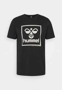 Hummel - HMLISAM - Print T-shirt - black - 4