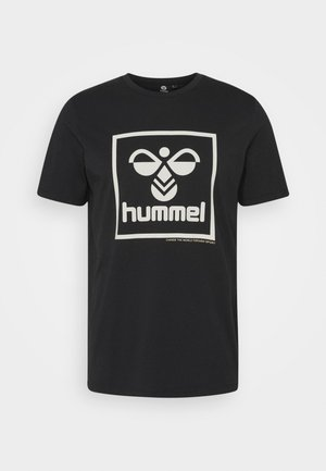 HMLISAM - Print T-shirt - black