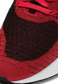 Nike Performance - REACT INFINITY RUN FK 2 - Neutral running shoes - bright crimson black dark smoke grey white - 5