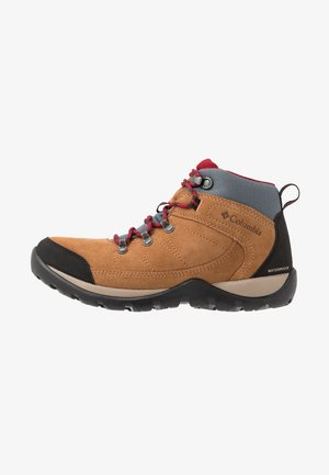 FIRE VENTURE S II MID WP - Hiking shoes - beet