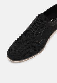 ALDO - PROMETHEUS - Zapatos con cordones - black - 4