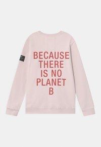 Ecoalf - BACKCLASSIC BECAUSE GIRLS - Mikina - light pink - 1