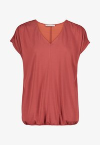 Betty & Co - MIT GUMMIZUG - Basic T-shirt - barn red - 3