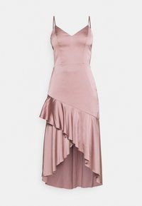 SUCH A FLOUNCE MIDI DRESS - Cocktail dress / Party dress - dusty pink