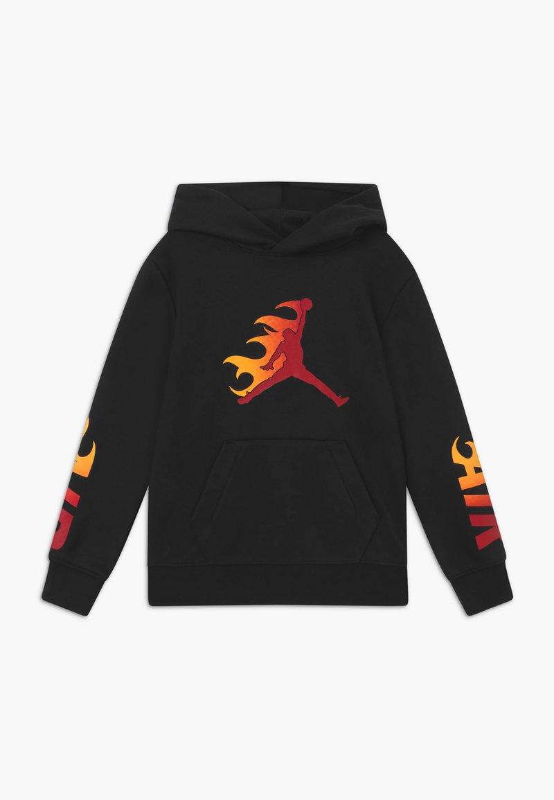 Jordan - JUMPMAN FIRE  - Mikina skapucí - black