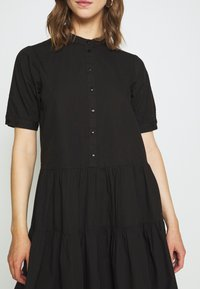 Vero Moda - VMDELTA DRESS - Skjortekjole - black - 5
