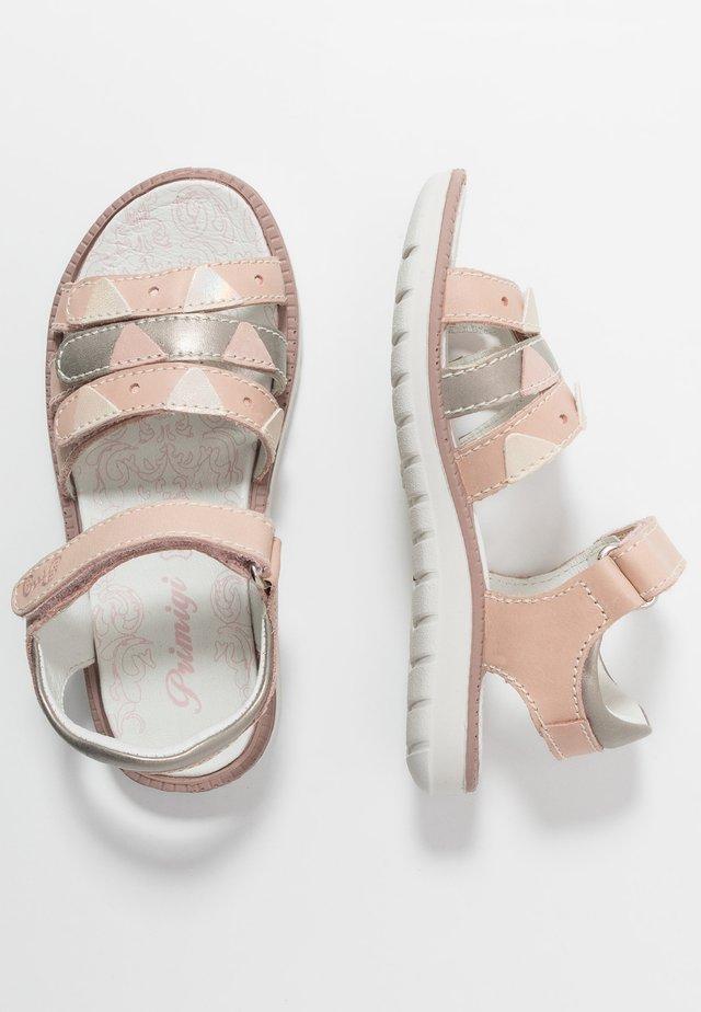Sandály - rosa/taupe