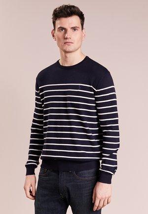 Pullover - black/white