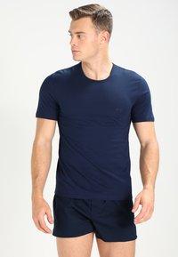 BOSS - 3 PACK - Unterhemd/-shirt - open blue - 3