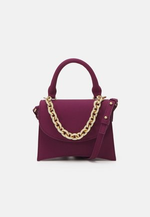 MINI XBODY WITH CHAIN - Handbag - raspberry