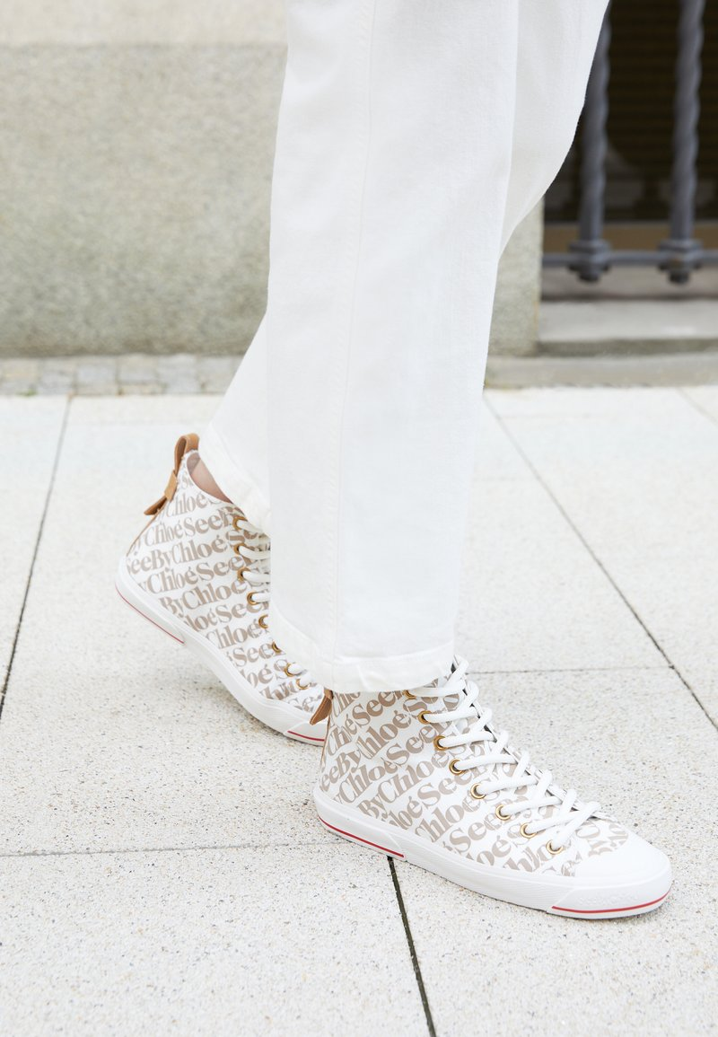 See by Chloé - ARYANA - High-top trainers - natural