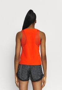 Nike Performance - AIR TANK - Top - team orange/silver - 2