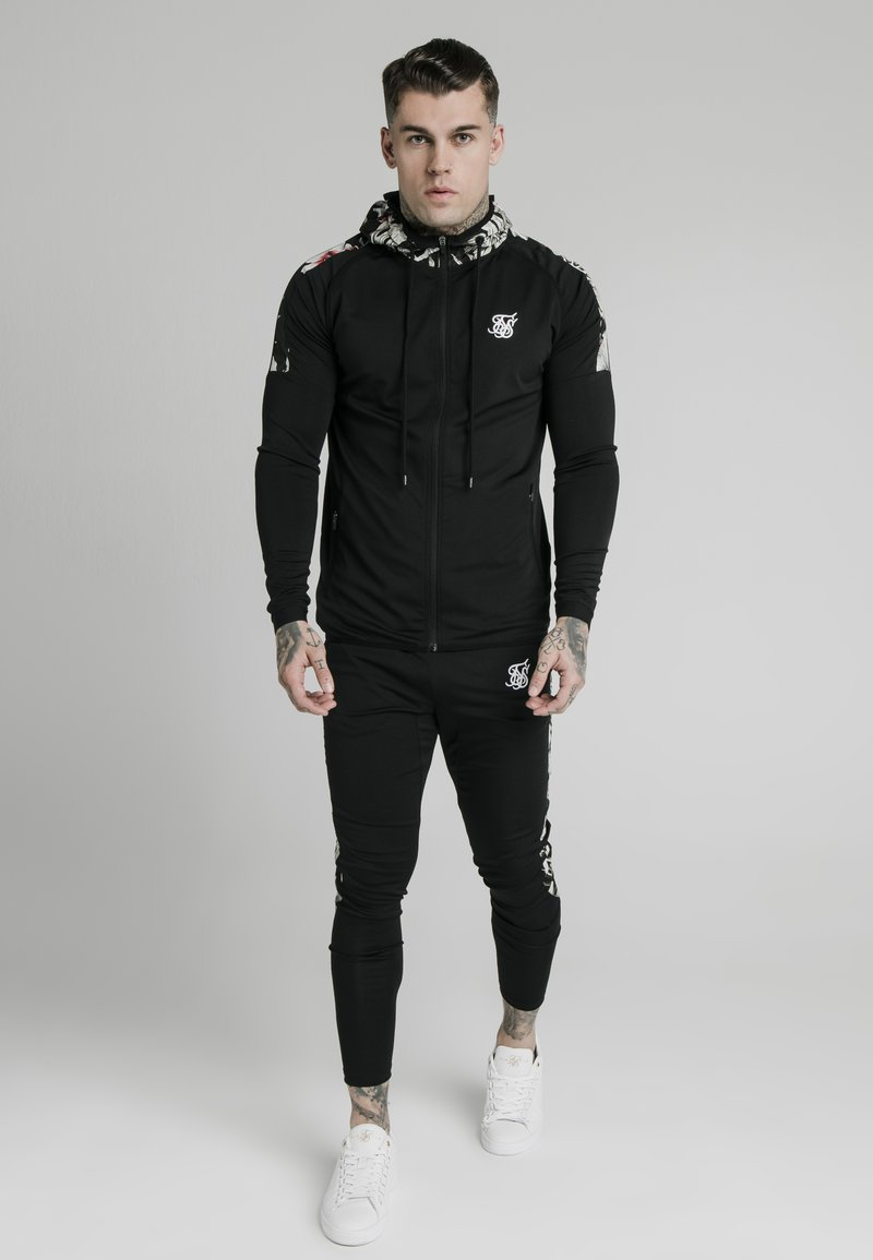 SIKSILK - Sweatjacke - black