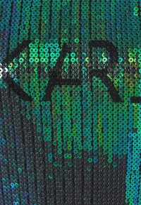 KARL LAGERFELD - SEQUINS LOGO DRESS - Day dress - black - 2
