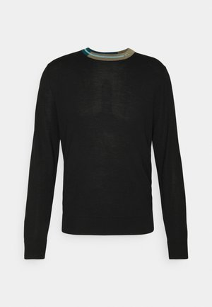 MENS CREW NECK - Svetr - black