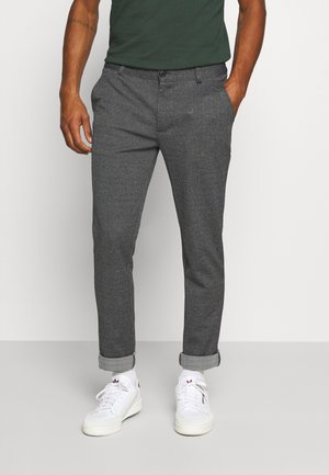 PANTS - Trousers - charcoal mix