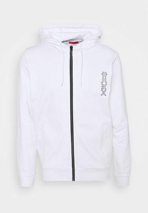 DEERIO - Zip-up sweatshirt - white